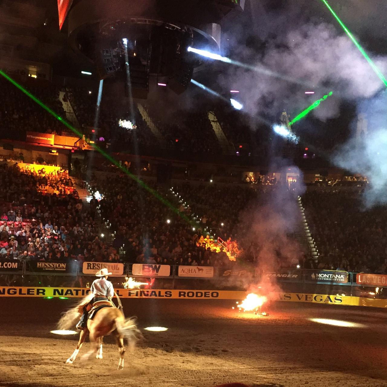 Roping Arena Lights: Laser Photo Gallery